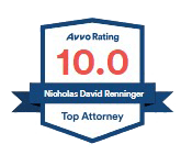 Nicholas David Renninger - Top Attorney with an Avvo Rating of 10.0